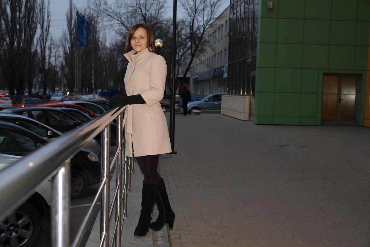 Пальто от Малипуся