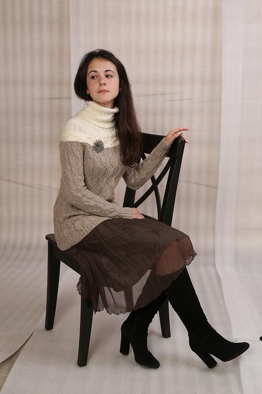Юбка изгофрированного шифона от Елена Илларионова