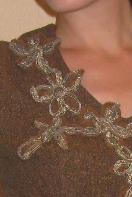 Очень теплое платье от Darnes