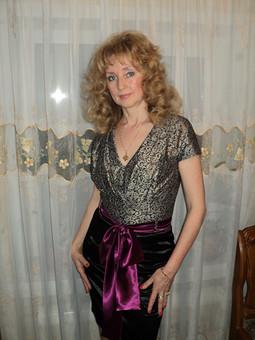 Работа с названием Платье из остатков ткани