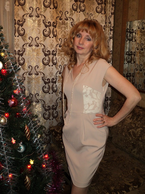 Новогоднее платье от luba_ne63