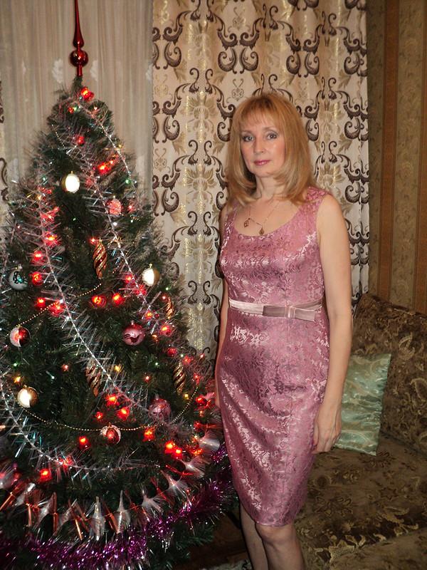 Новогоднее платье изкружева от luba_ne63