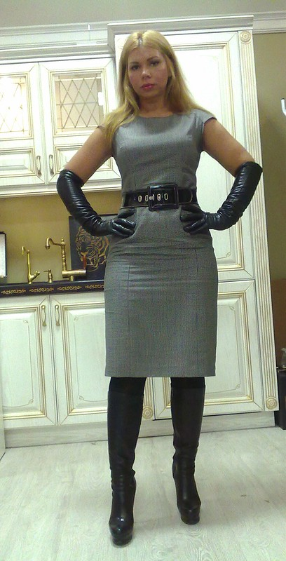 Платье шерсть-пепита от YliaM