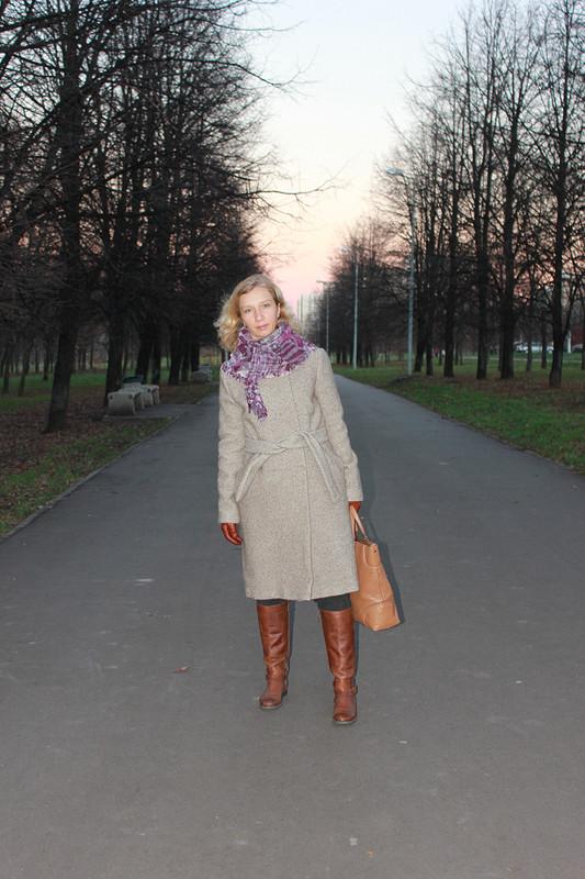 Августовское пальто