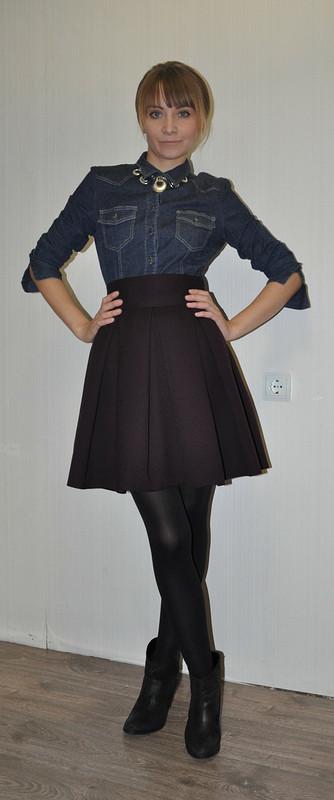 Баклажановая юбка Золушки