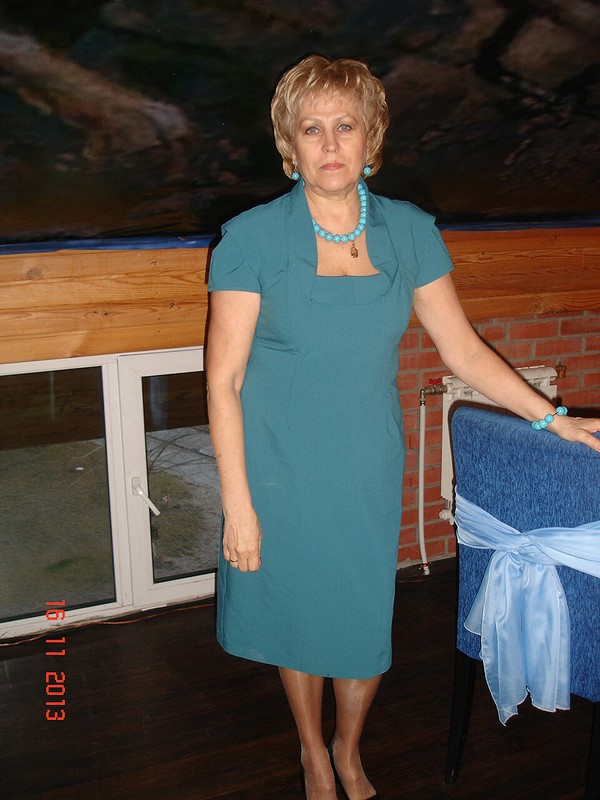 Платье длясвекрови от NastenaBykova