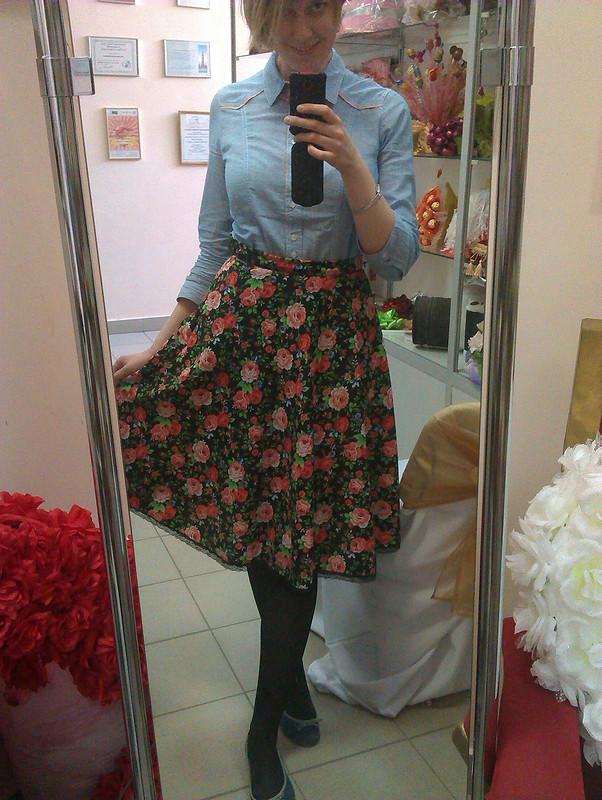 юбка-полусолнце от Ekaterok