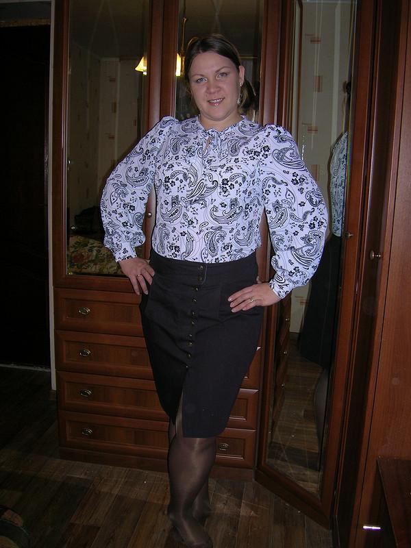 Блузка июбка от Мелани
