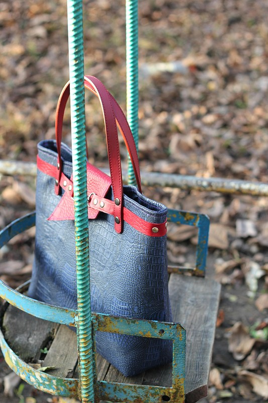 Женская сумка «Черничная осень» от Ирина Болдырева