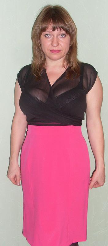 розовая юбка от ЮлияПсков