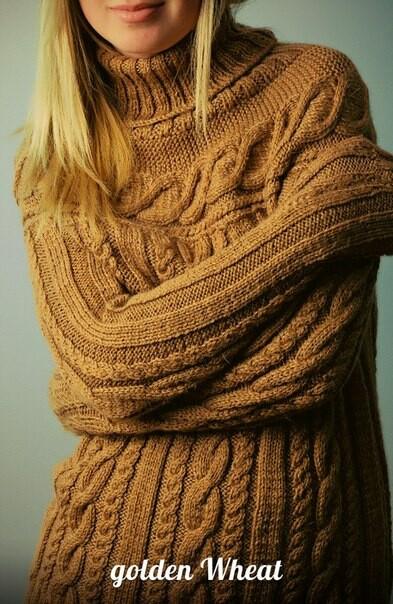 Золотой пуловер от Ольга Назарова