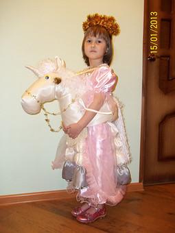 Работа с названием принцесса на лошади