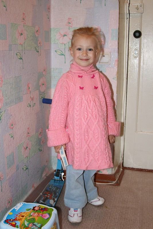 розовое пальтишко от Аляалла