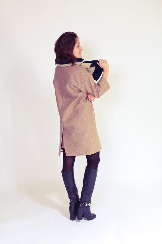 Моё первое пальто!