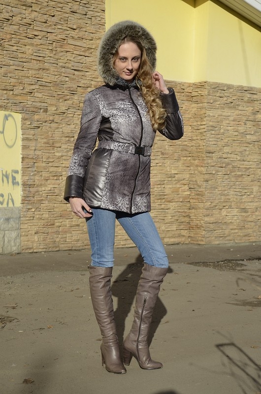 Какая же зима безтеплой куртки. от solnichko