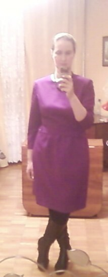 Чернильное платье от JulianaK