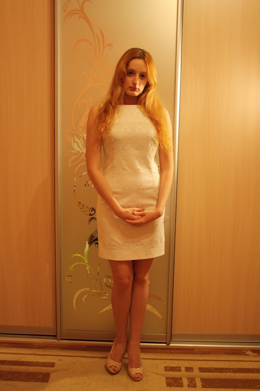 Платье изжакарда от hellena