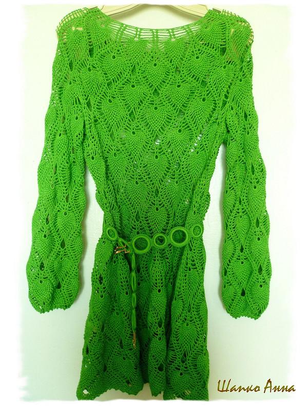платье «зеленый рай» от AnnaShapko