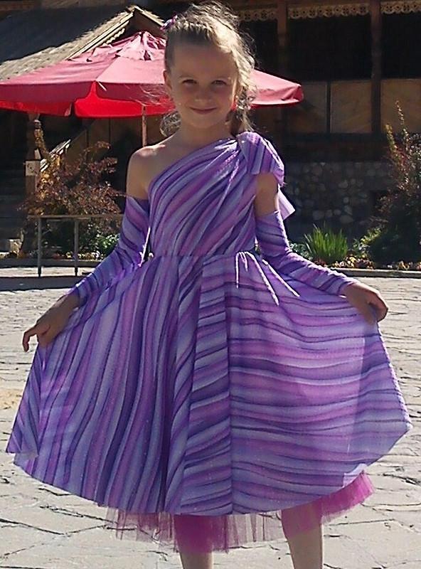 Фиолетовая зебра