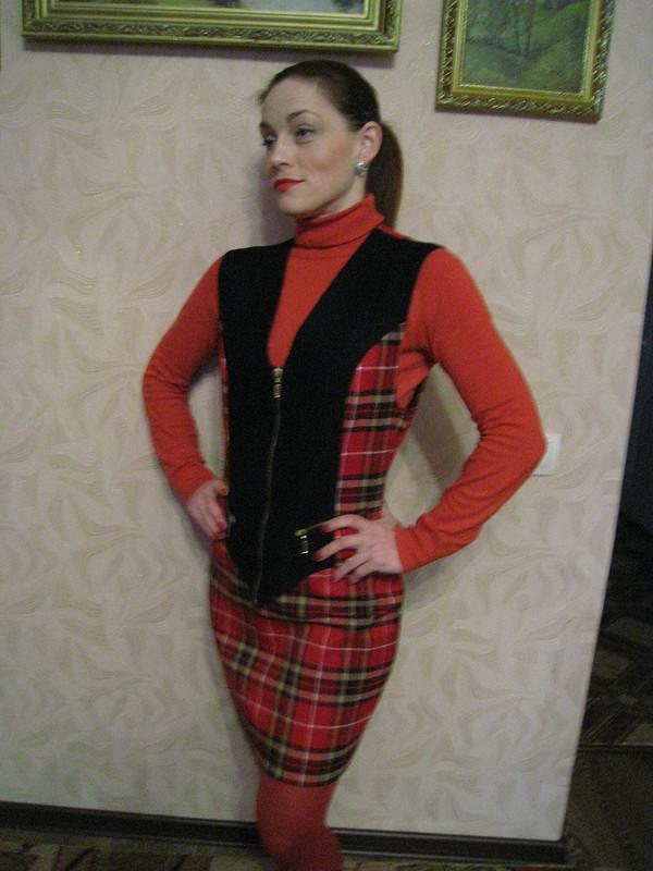 Почти классическая шотландка....