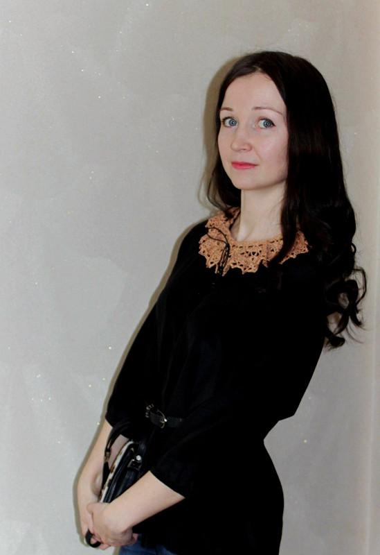 Шелковая блузка от danin