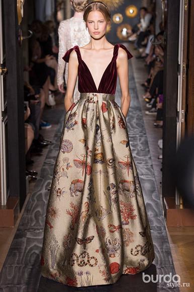 Праздничные платья вновой коллекции VALENTINO