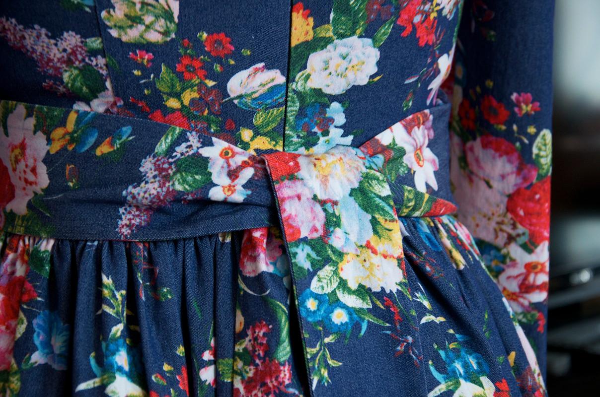 Платье изджинсовой ткани от tkachukelena