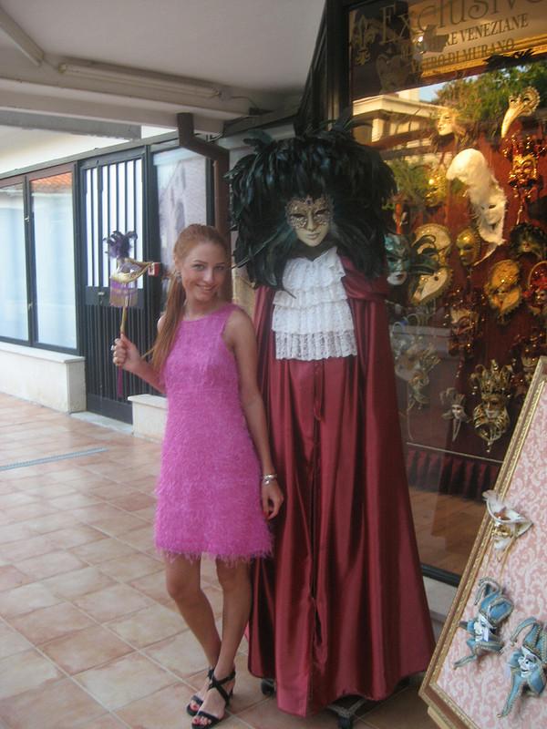 Розовое платьишко от Вера Волхонская