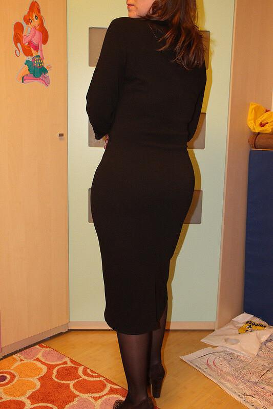 Мое черное платье от Galych