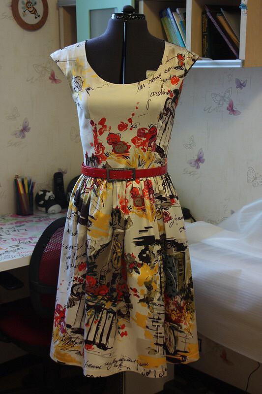 Парижское платье