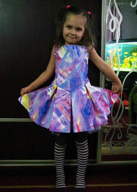 платье налето