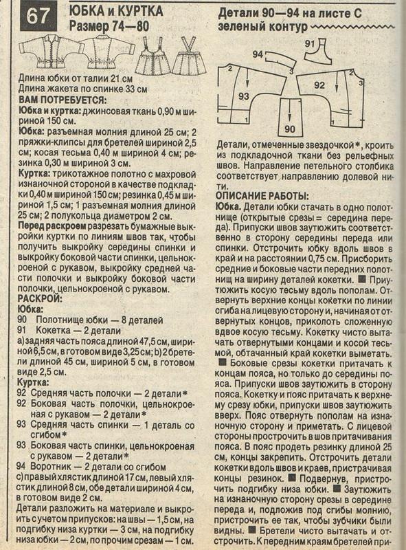 Джинсовый костюм длявнучки от Ирина Буранова