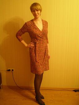 Работа с названием платье в тюльпанчиках