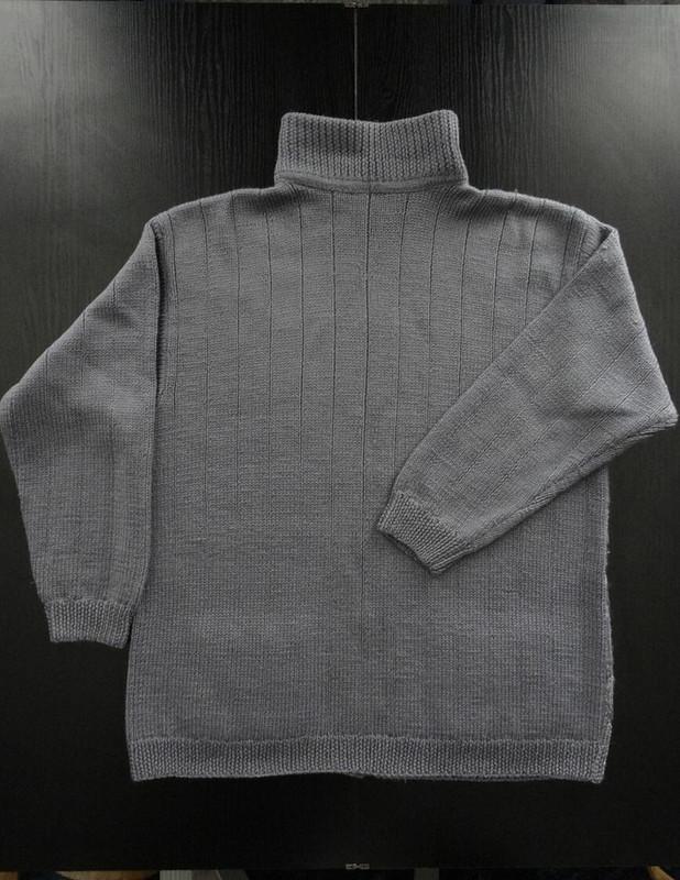 Вязаная мужская куртка - 2 от D__Irina59