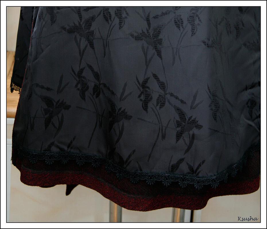 Платье сзапахом. от koten13