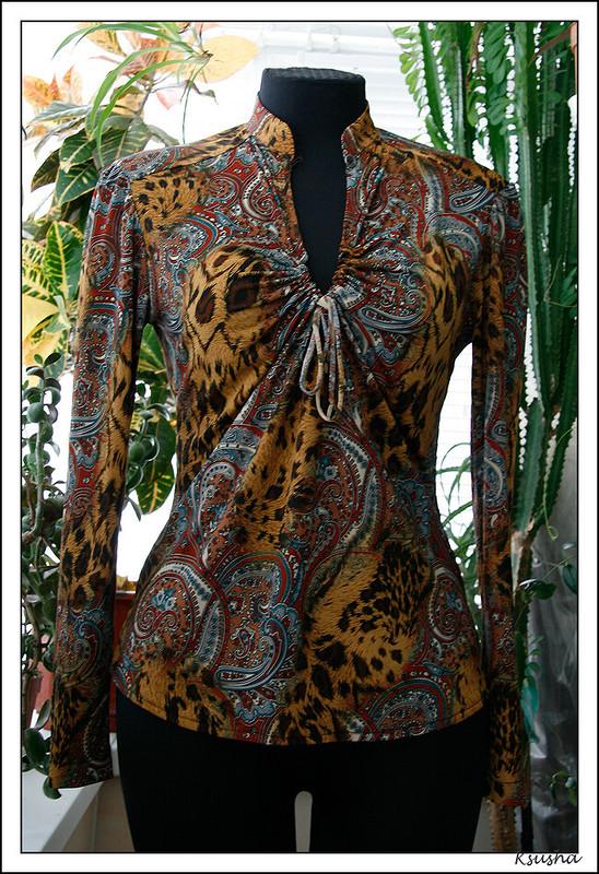 Любимая трикотажная блузка