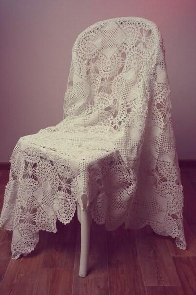 Ажурная скатерть. Уют дома. от Ольга Назарова
