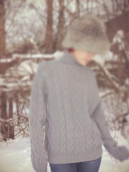 Мужской свитер от Ольга Назарова