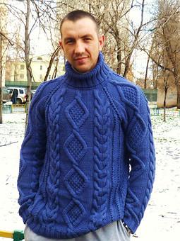 Работа с названием свитер мужской