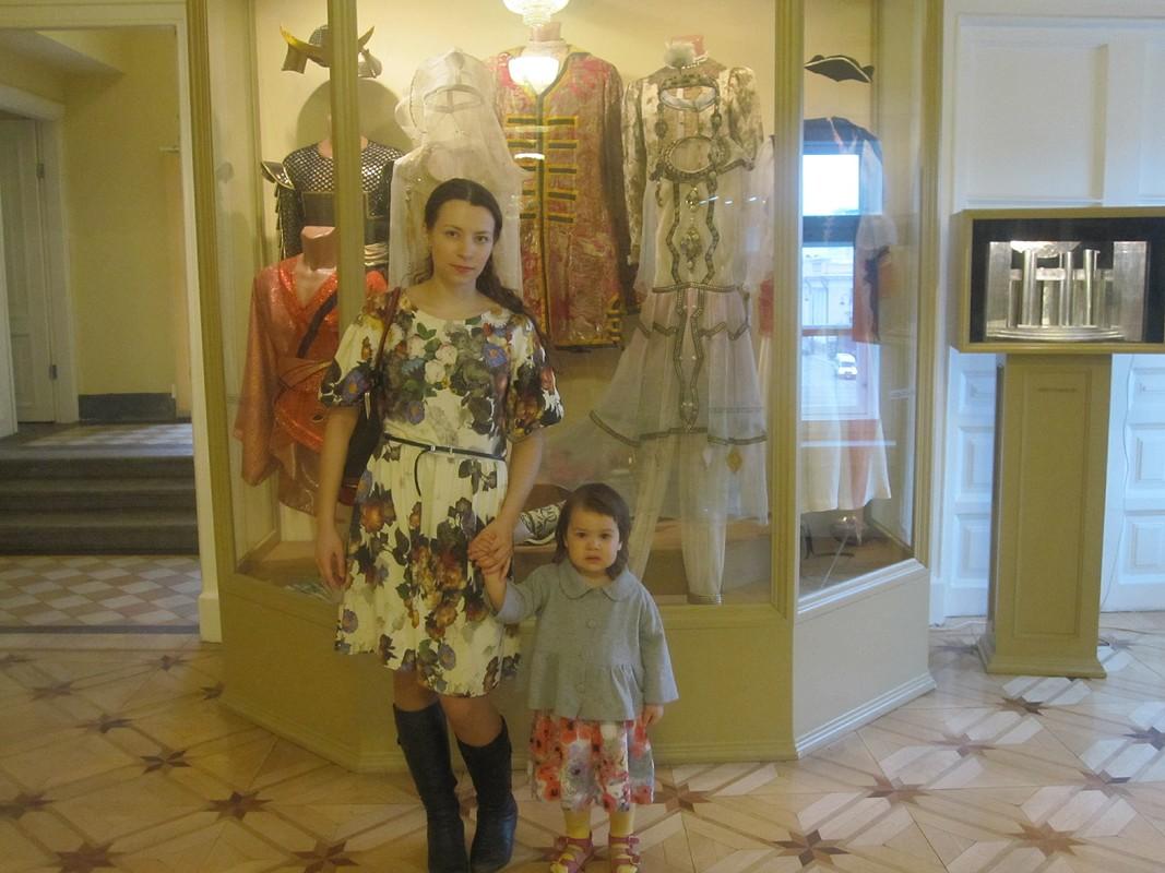 Трикотажное платье от Mashenka P