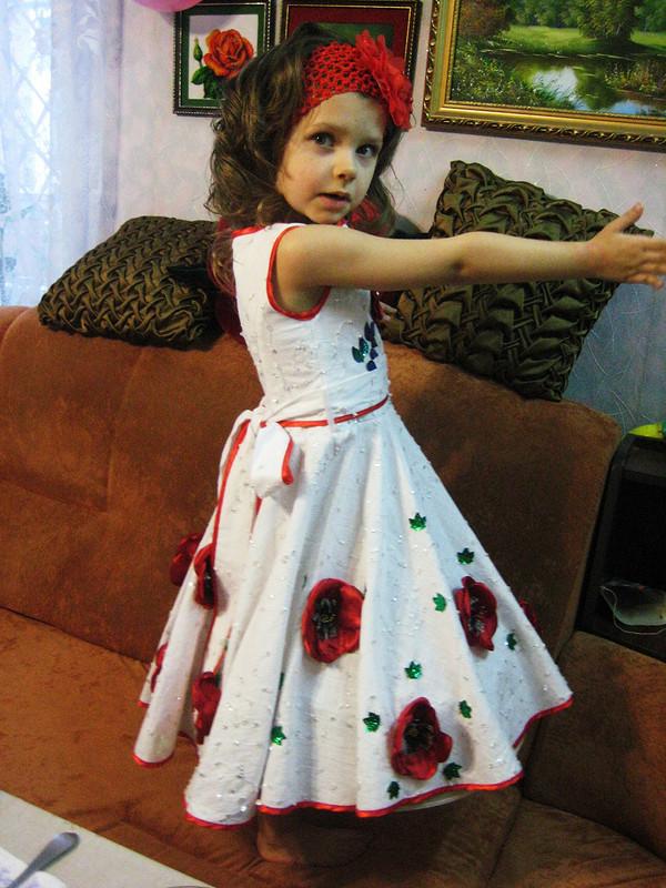 платье кдню рождения