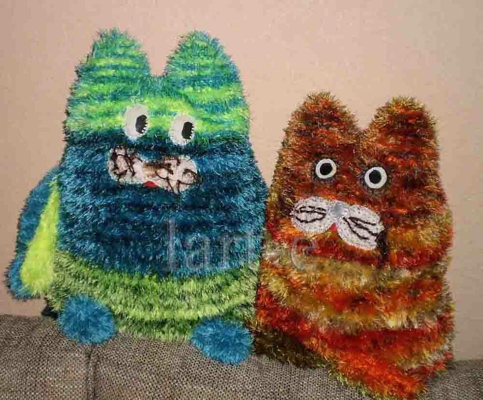 кото-игрушки-подушки от lart-e