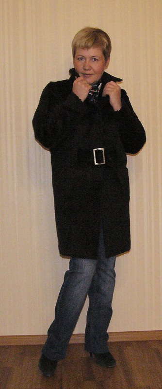 Пальто утепленное от  Галина Позднякова