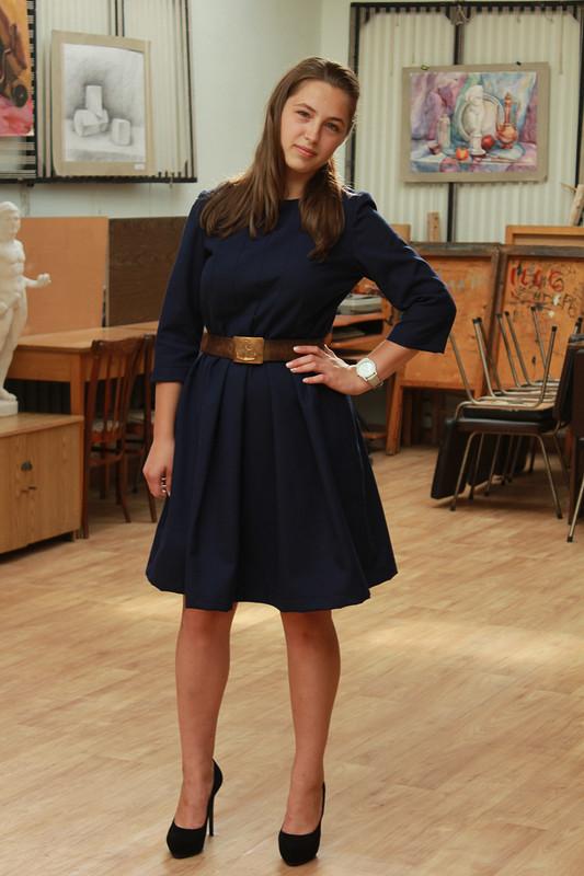 Школьное платье от Алёна Журихина