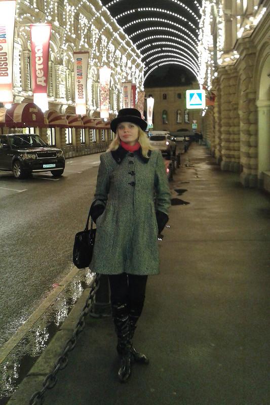 Черно-белое пальто от JaneN