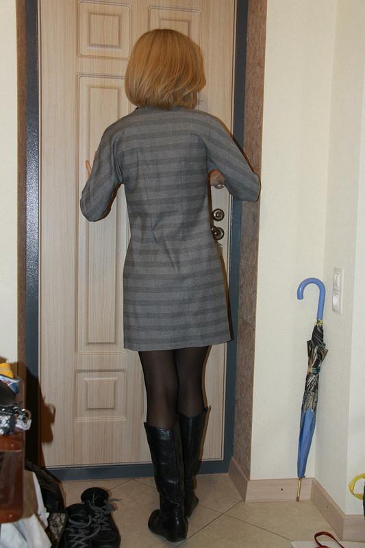 Просто-платье. Любимая выкройка. от Buena cabeza