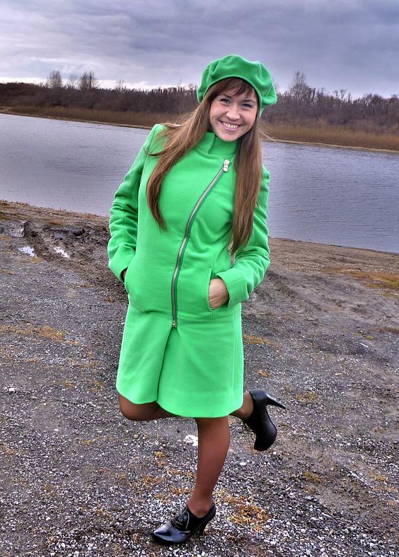 Демисезонное пальто. от tanyukha_belyaeva