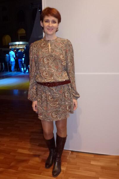 Платье модель 124 BURDA 9/2009