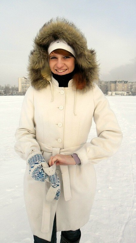 Зимнее пальто от Nataliy Sonina