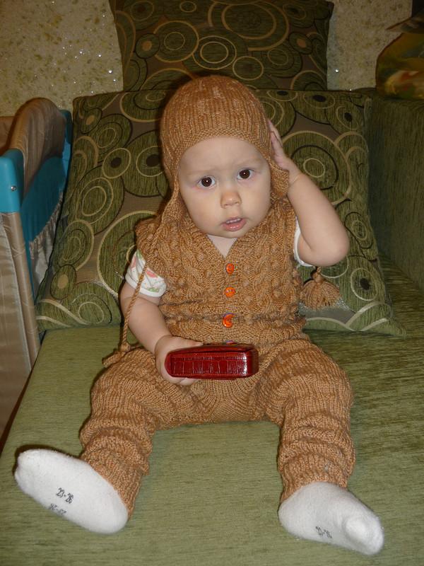 Зимний костюм длявнука от Анаста